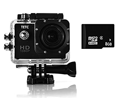 Pyle eXpo Hi-Res Mini Action Video Camera with 20 Mega Pixel Camera, 2-Inch LCD Screen and Wi-Fi Remote