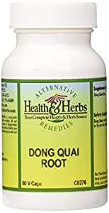 Alternative Health & Herbs Remedies Dong Quai Root*** Capsules, 60-Count Bottle
