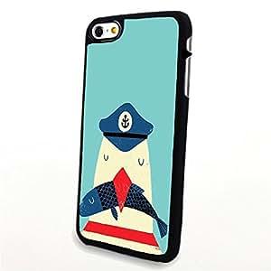 Generic Phone Accessories Matte Hard Plastic Phone Cases Cartoon Animal Seagull fit for Iphone 6 Plus