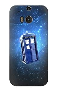 S1622 Doctor Who Tardis Case Cover For HTC ONE M8