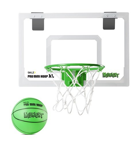 SKLZ Pro Mini Basketball Hoop XL - Glow in the Dark (Basketball Rim Paint compare prices)