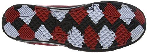 Vision Street Wear Men's Canvas Hi 201791 Boots Black/White/Red nD3PZaj