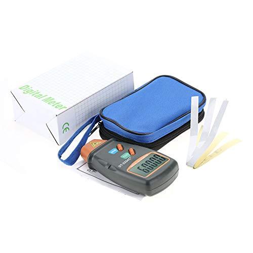 Digitale Toerenteller,DT-2234C+ Non-Contact Digitale LCD Laser Foto Toerenteller Mini RPM Tester Meter