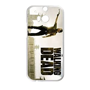 HTC One M8 Phone Cases White The Walking Dead LSFE5458413