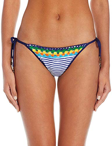 Sperry Top-Sider Women's Carribean Sunset Stripe String Tie-Side Bikini Bottom, Multi, M