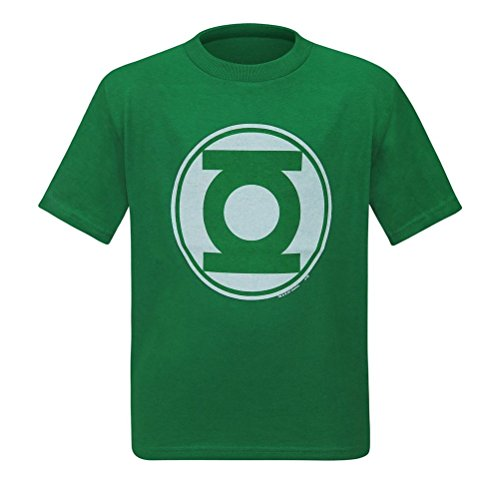 - Junk Food Green Lantern Modern Symbol Kids T-Shirt- Toddler 4T