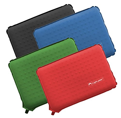 Lightspeed Outdoors Self-Inflating Insulated Stadium Seat Cushion an Integrated Carry Bag