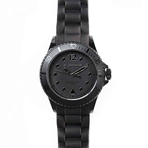 lolliclock-boeing-logo-watch-black-silver