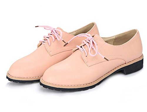 Ms. primavera e autunno scarpe singoli pattini tacco basso con le scarpe pizzo scarpe grosse signore , US7.5 / EU38 / UK5.5 / CN38