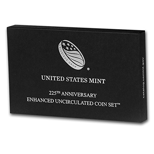 2017 S 225th Anniversary Enhanced Uncirculated Coin Set Limited to 225,000 Gem - Roosevelt Field Stores