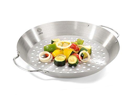 Gefu 89156 Hähnchengriller mit Gemüse-Wok