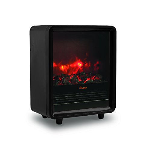 Crane Fireplace Heater - Black