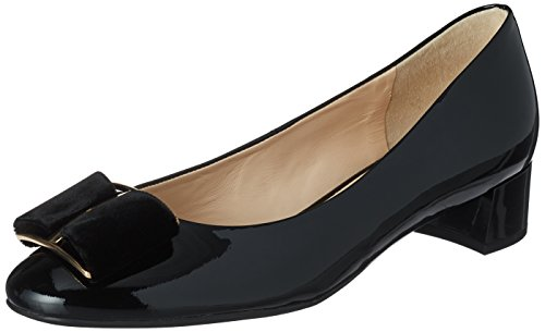 10 Schwarz 4 0100 Women's HÖGL Black Toe Heels 0100 3084 Closed EqRFO