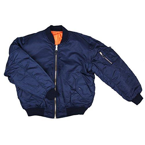 Garments Fostex Usa Blu Militare 1 Ma Originale Bomber 8wrYwd