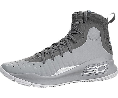low priced 6a142 c4e8c Under Armour Curry 4 Men's Basketball, Size 10.5, Color Grey