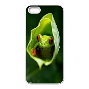 CHENGUOHONG Phone CaseFrog Art Design For Apple Iphone 5 5S Cases -PATTERN-8