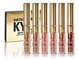 6Pcs Kylie Jenner Birthday Edition Matte L