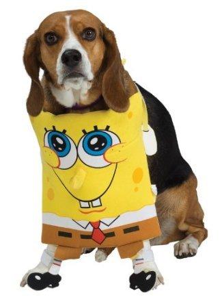 Spongebob Dog Pet Costume - Medium]()