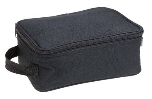 Household Essentials Grooming Travel Bag Organizer, Black