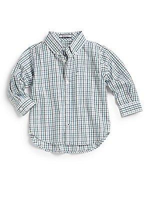 Hartstrings Boy's Woven L/S Shirt by Hartstrings