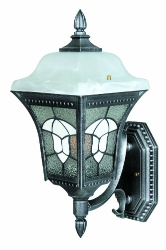 Special Lite Products Abington F-2987-SW Medium Bottom Mount Light, Swedish Silver