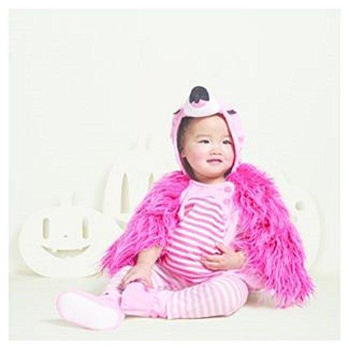 Baby Plush Flamingo Vest (Infant Flamingo Costume)