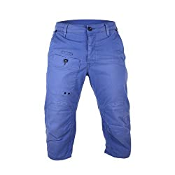 G-Star RCO Cargo Chino Surfer Tapered Shorts - Dolphin Blue (Men) - 32