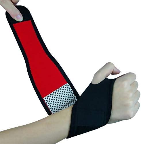 Sport-Armbänder, Gewichtheben, mit Schutz, Sport, Fitness, Wicklung, Heizung Hand