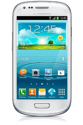 Samsung Galaxy S3 Mini GT-i8190 GSM Unlocked International Version White - NO WARRANTY (Prepaid Iphones Boost Mobile)