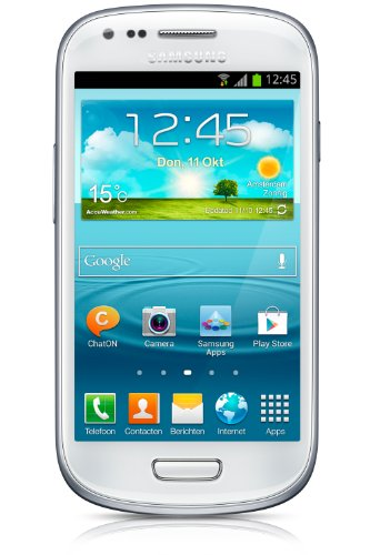 Samsung Galaxy S3 Mini GT-i8190 GSM Unlocked International Version White - NO WARRANTY (Unlocked Samsung 4 Mini)