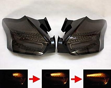 Led Rückleuchten Dynamische Blinker Kompatibel Für Focus Mk3 2014 2018 Smoke Matt Auto