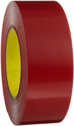3M Outdoor Masking Poly Tape 5903 Red, 48 mm x 54.8 m (Pack of 1) from 3M
