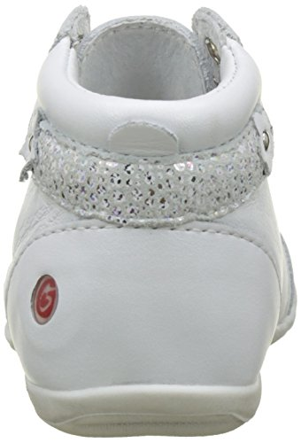 GBB Primrose - Zapatos de primeros pasos Bebé-Niños Blanc (Vte Blanc Dpf/Kezia)