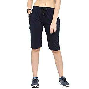 UZARUS Women's Regular Fit Capris