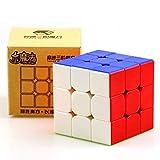 Elloapic Yuxin Little Magic 3x3 Speed Cube Yuxin 3x3x3 Magic Cube Puzzle Stickerless