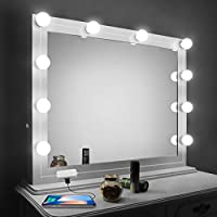 Vanity Mirror Lights Kit,LED Lights for Mirror with...