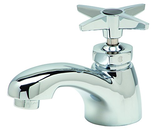Zurn Z82702-XL Single Basin Faucet With Four Arm Handle.