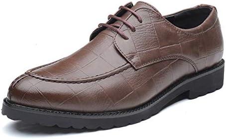 古典的な英国スタイルの通気性のグリッドパターンはフォーマルシューズメンズファッションオックスフォードカジュアルをひもで締めます 快適な男性のために設計