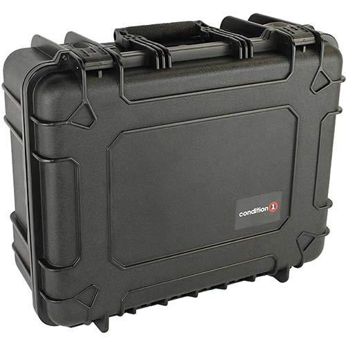 Condition 1 #253 Black Airtight/Watertight Protective Case with DIY Customizable Foam