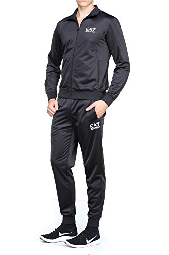 Emporio Armani -  Pantaloni sportivi  - Uomo nero nero