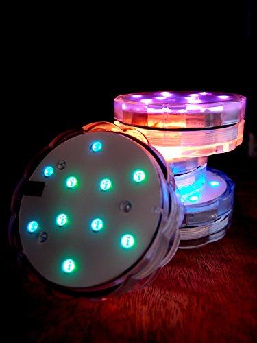 Led Submersible Light Disc Rgb - 4