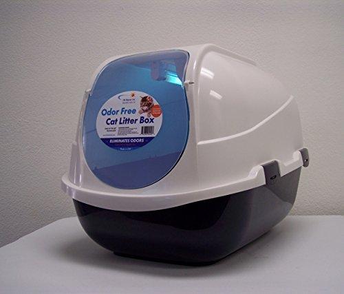 - FN NANO Odor Free Cat Litter Box, State of The Art Technology