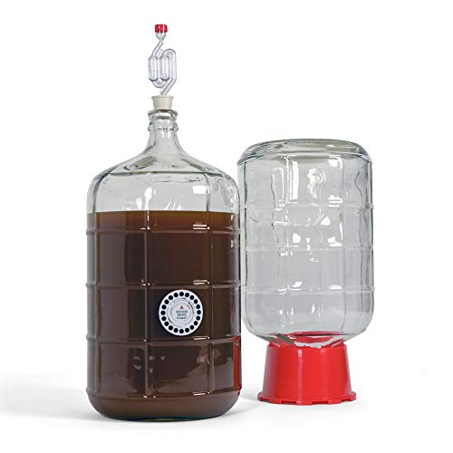Northern Brewer Deluxe Home Brewing Equipment Starter Kit - Fresh Squished IPA Beer Recipe Kit - Glass Carboys Fermenter with Equipment For Making 5 Gallons Of Homemade Beer by Northern Brewer (Image #2)