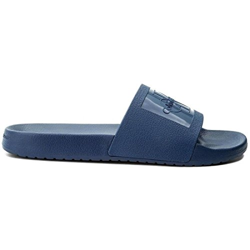 Men Open Sandals Blue Vincenzo Klein Jeans Jelly Calvin Toe xwEAOHnXqp