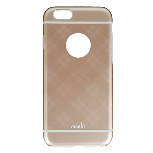 Moshi iGlaze Case for iPhone 6s & 6 - Tartan Rose - 99MO079256