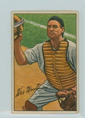 1952 Bowman Baseball 74 Wes Westrum Very Good (3 out of 10) by Mickeys Cards ()