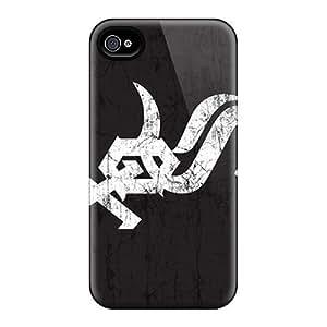 Apple Iphone 4/4s QVy13465UUld Customized Trendy Chicago White Sox Image Best Hard Phone Cases -EricHowe