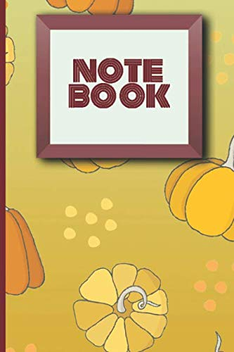 NOTE BOOK: Blank, lined notebook that can be used for school or work or as a diary or for journaling (Patterns)