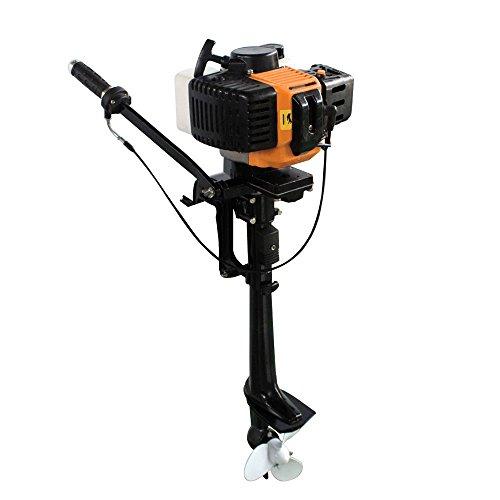 Outboard Motor, 3.5HP 2 Stroke Inflatable Heavy Duty Fishing