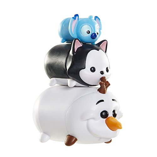 tsum tsum 3 pack figures olaf figaro stitch import it all. Black Bedroom Furniture Sets. Home Design Ideas